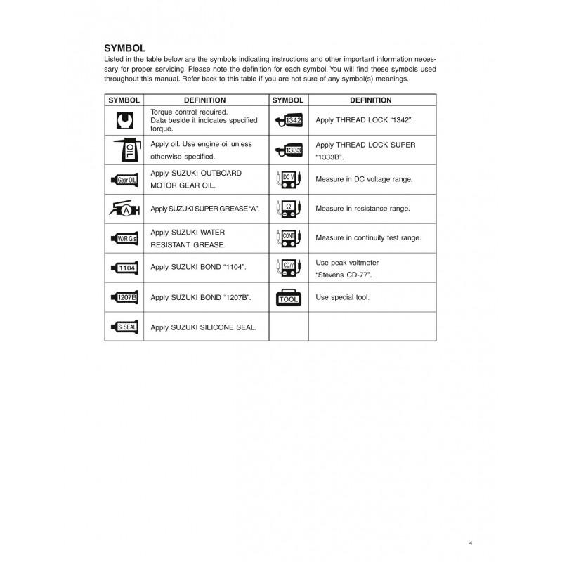 Suzuki Df40 owners Manual
