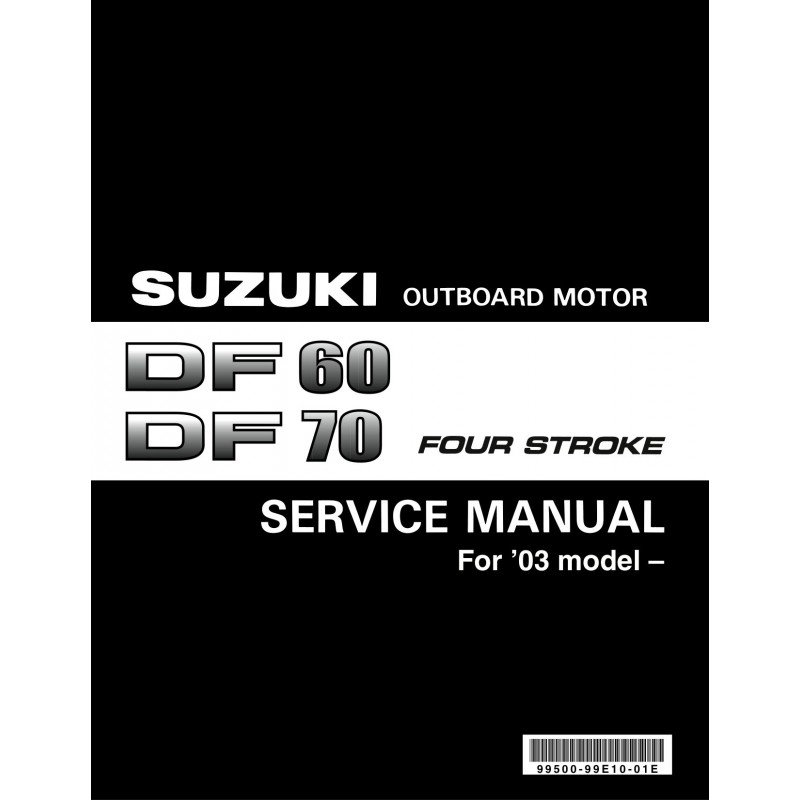 Cushman Suzuki Engine Service Manual