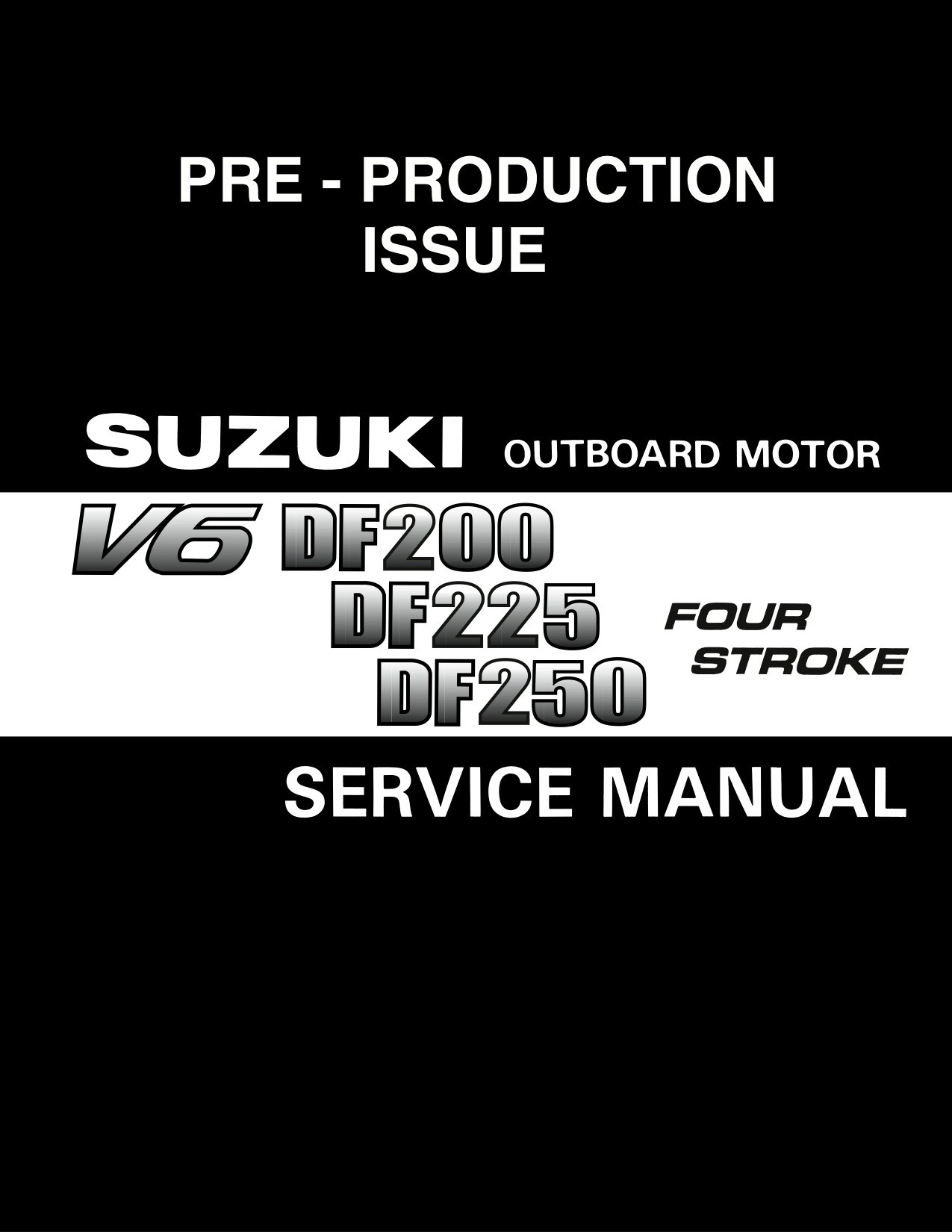 Suzuki df225 Service Manual